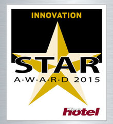TOP Hotel Star Award 2015 Oro